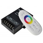 RGB touch контроллер 30A RF 360W 12V white (Screen)